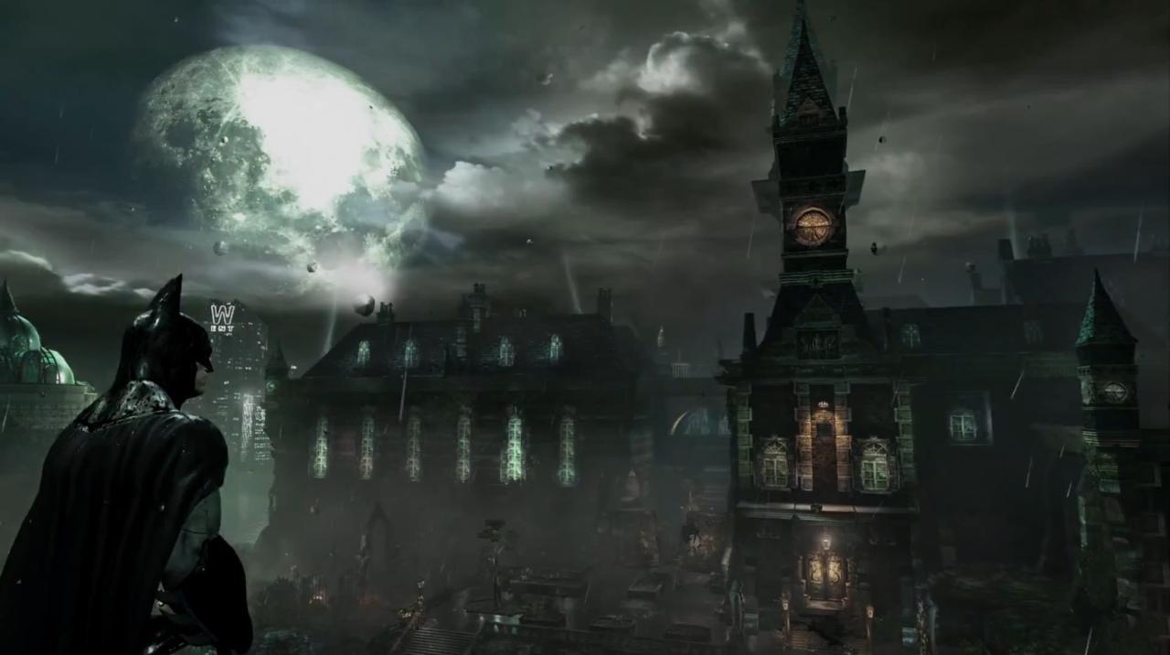 Batman: Return to Arkham: Comparativa gráfica entre la versión remasterizada y la original