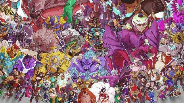 Todos los Campeones de League of Legends, reunidos