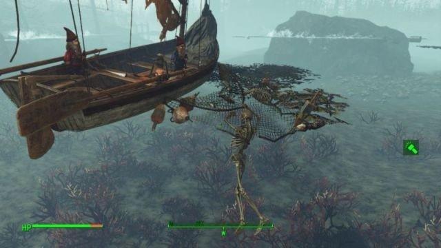 Fallout 4: Far Harbor esconde estos secretos bajo el mar