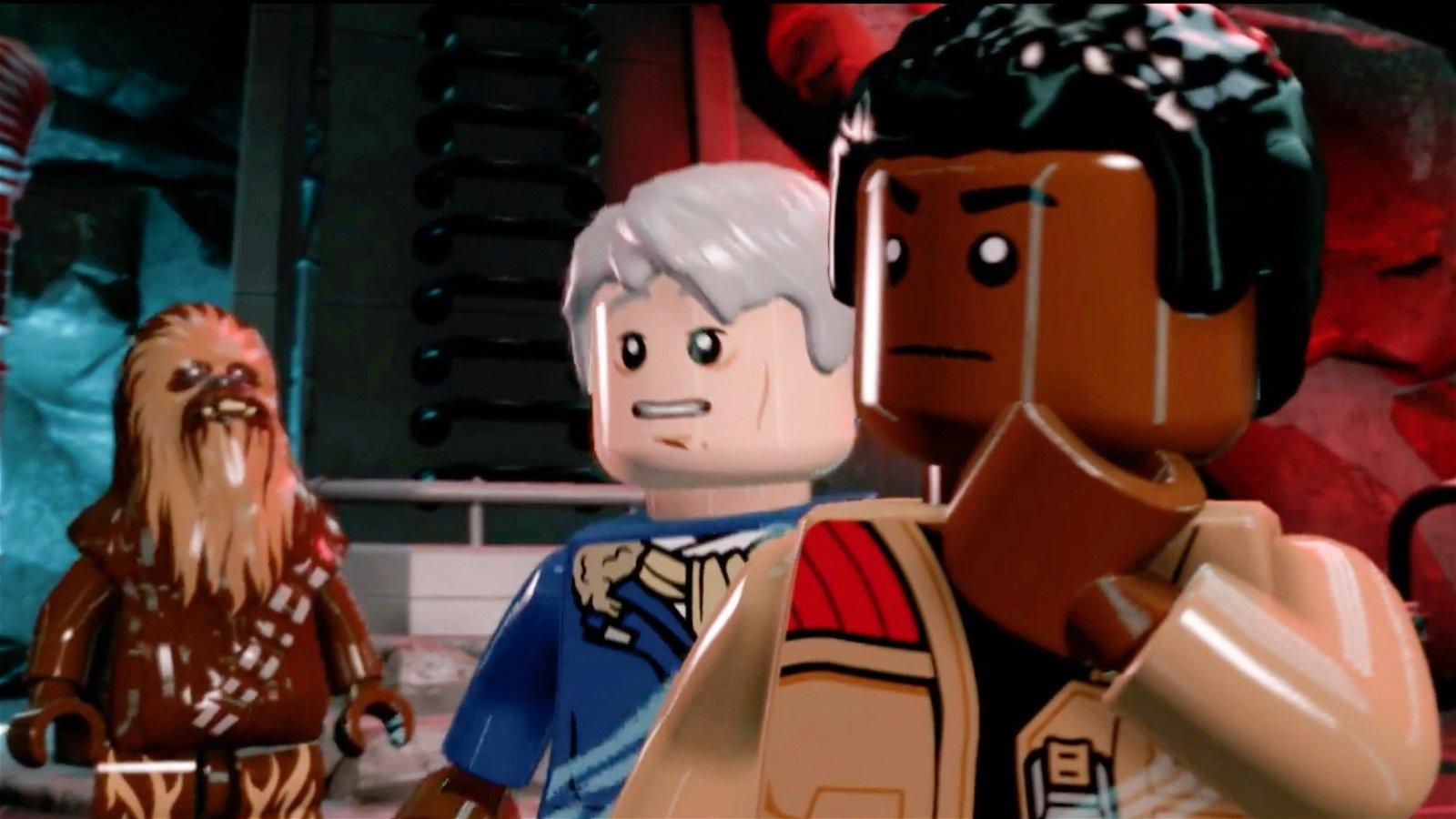 LEGO Star Wars: El Despertar de la Fuerza muestra a Finn en un nuevo tráiler