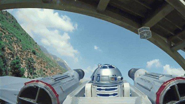 Star Wars: Recrean una batalla espacial con drones, y el resultado es espectacular