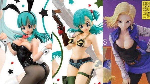 Dragon Ball tiene estas realistas figuras de sus protagonistas femeninas