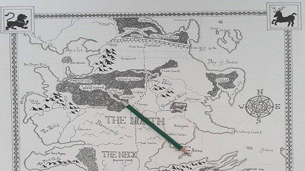 Dibuja el mapa de The Witcher 3 al estilo de los libros de Tolkien