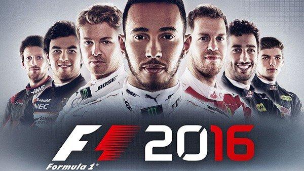 F1 2016 es anunciado oficialmente