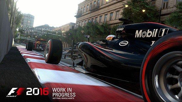 F1 2016 desvela su fecha de salida y el circuito de Baku