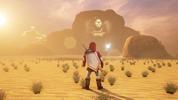The Legend of Zelda: Recrean el Templo del Espíritu de Ocarina of Time con Unreal Engine 4