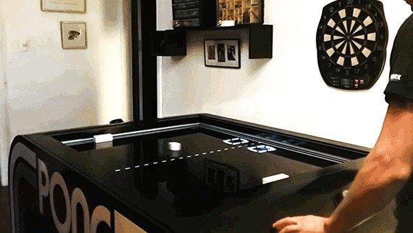 Pong: Construyen una versión real del clásico de Atari