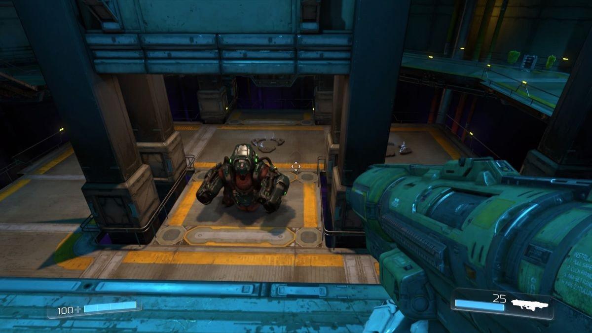 Doom: Recrean una raid de Destiny mediante el editor de niveles