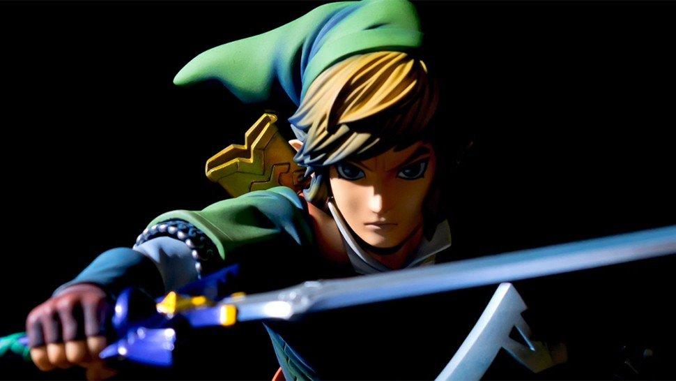The Legend of Zelda: Skyward Sword: Link se hace realidad gracias a esta imponente figura