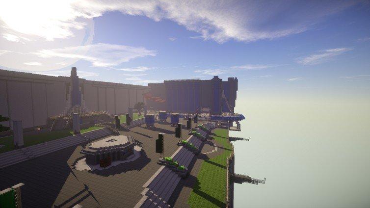 Destiny: Recrean todos sus escenarios en Minecraft