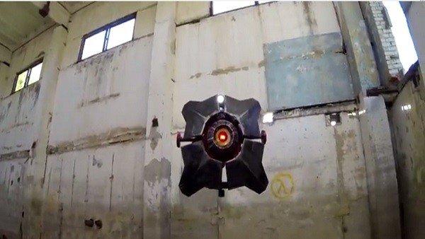 Half-life 2: Fabrican el City Scanner a partir de un dron