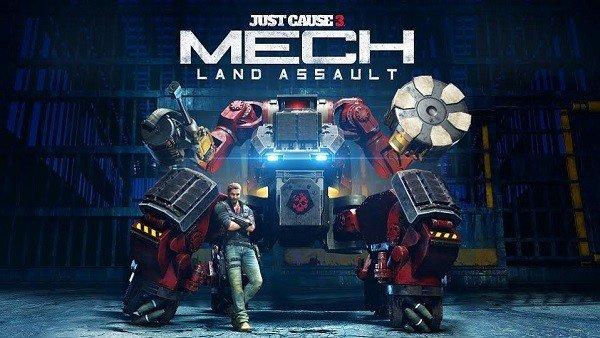 Just Cause 3 ofrece nuevos detalles de Mech Land Assault