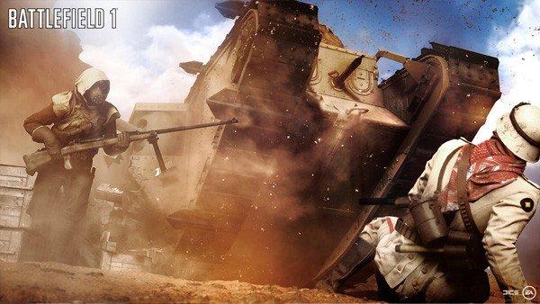 E3 2016 U-tad: Battlefield 1 desvela sus armas y sus modificaciones
