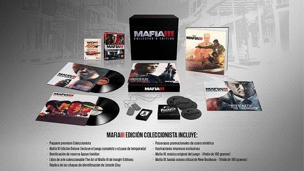 Mafia 3 detalla su edición coleccionista