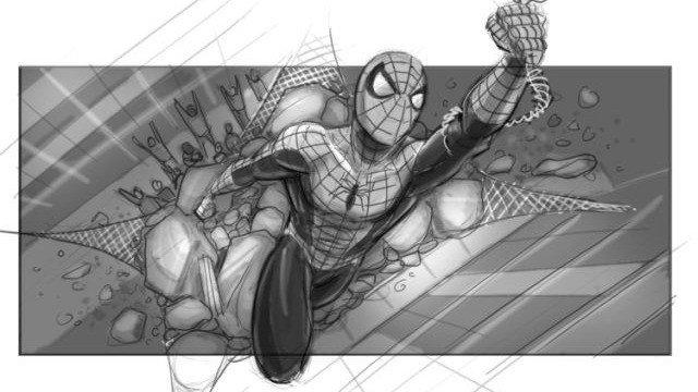 Spiderman 4 de Sam Raimi tenía estos storyboards