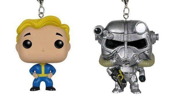 Fallout cuenta con estos adorables llaveros de Funko