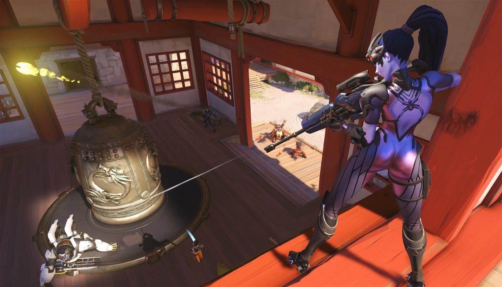 Overwatch: Un jugador se siente acosado por elegir a Widowmaker
