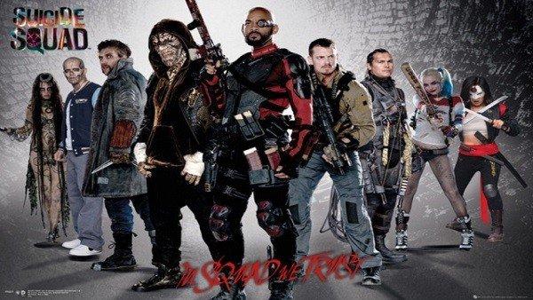 Escuadrón Suicida presenta nuevos pósters para promocionar la película