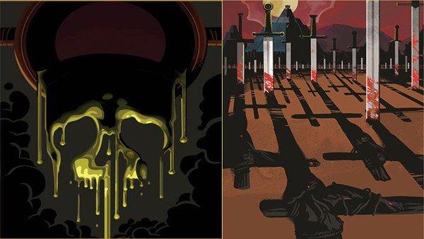 Juego de Tronos: Estas ilustraciones artísticas representan las muertes de la serie