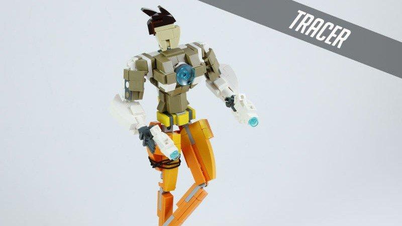 Overwatch: Sus personajes convertidos en bloques de LEGO
