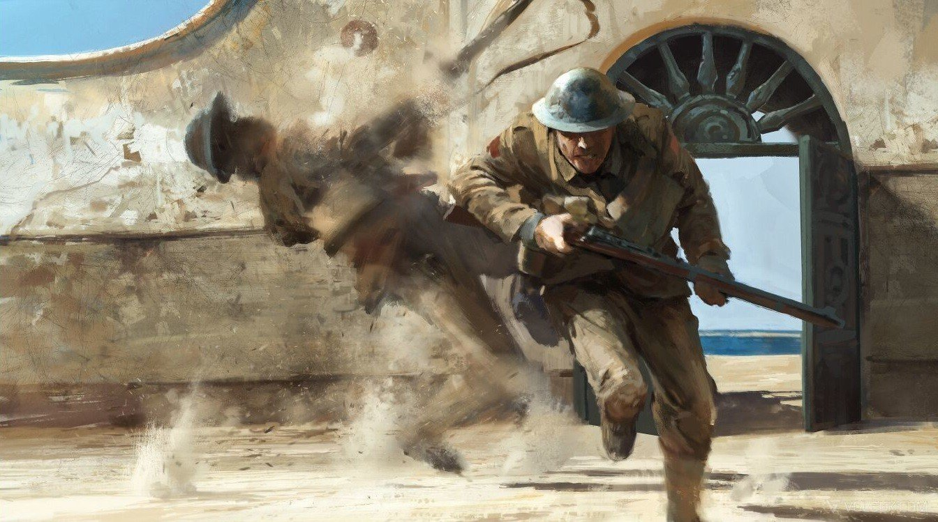 Battlefield 1 enseña su impresionante arte conceptual