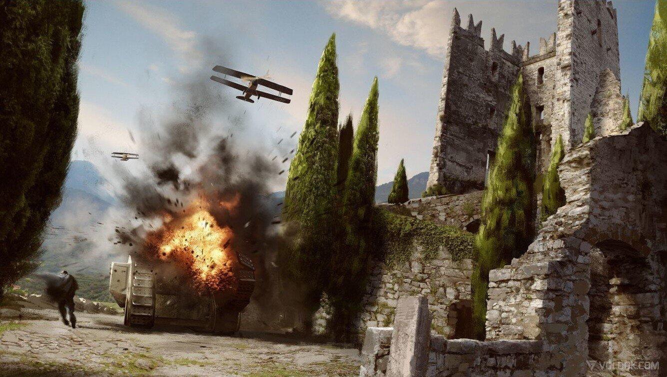 Battlefield 1: Filtración masiva del multijugador y campaña de la alpha