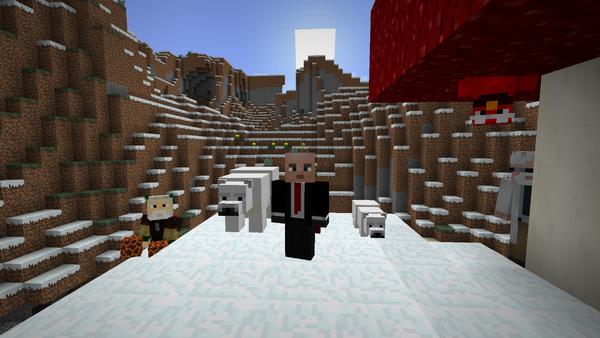 Minecraft incorpora nuevos mobs y biomas en su nueva actualización