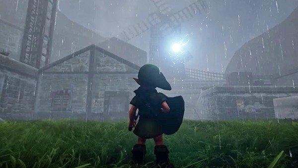 10 juegos de Nintendo recreados con Unreal Engine 4