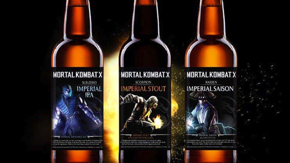 Mortal Kombat X lanza su propia marca de cerveza