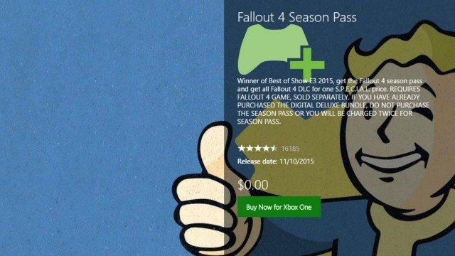 Fallout 4, gratis por error en Xbox Live durante un rato