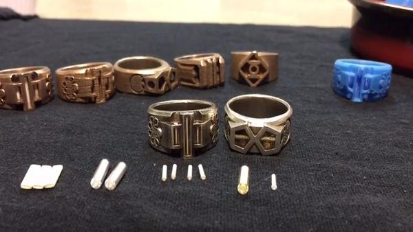 Construye unos anillos inspirados en el guantelete del infinito de Thanos