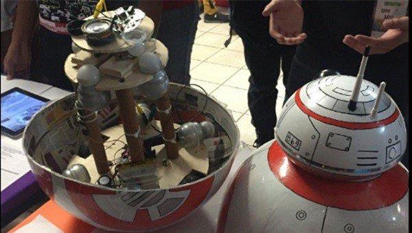 Star Wars: Un grupo de estudiantes crean su propio BB8 completamente funcional