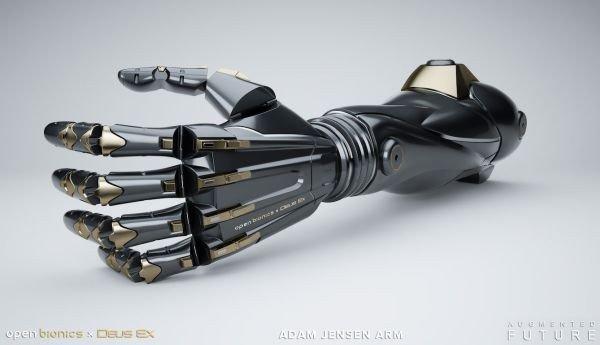 Deus Ex: Conviértete en Adam Jensen con este brazo protésico