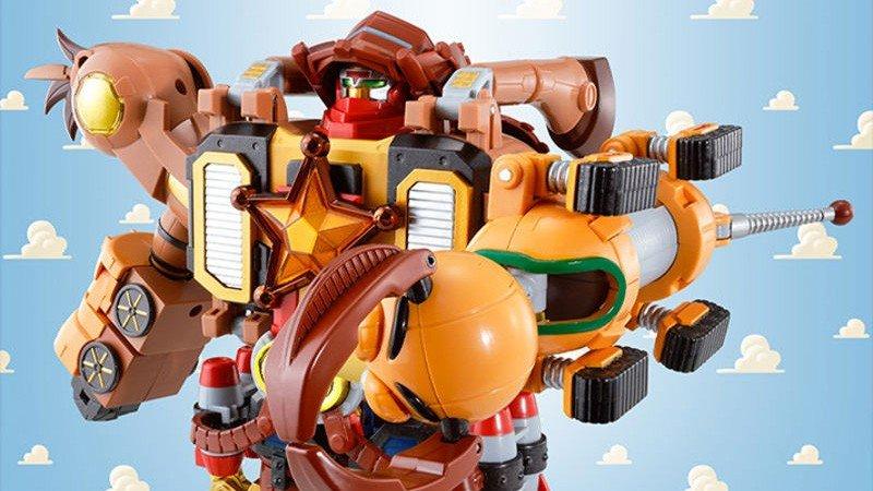 Toy Story y Voltron se fusionan en este juguete