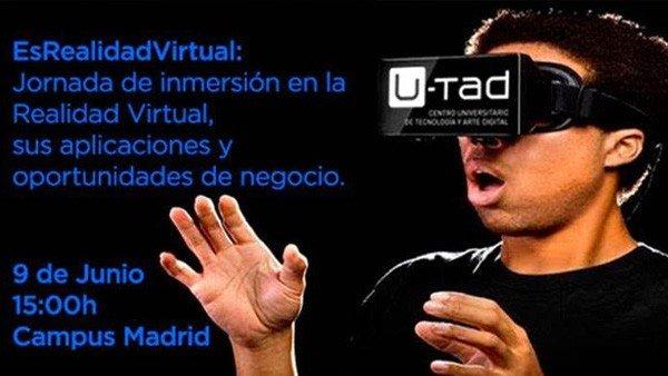 U-Tad: Asistimos a la primera edición de Es Realidad Virtual