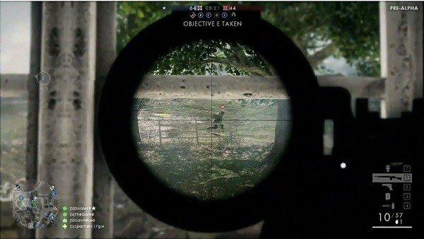 Battlefield pudo contar con un juego de pinball