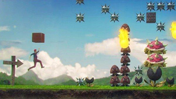 Super Mario Maker luce así en la vida real