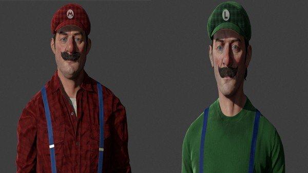 Varios personajes de Nintendo lucen más realistas que nunca en estos fanarts