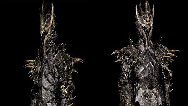El Señor de los Anillos: Reproducen la armadura de Suaron en la Primera Edad