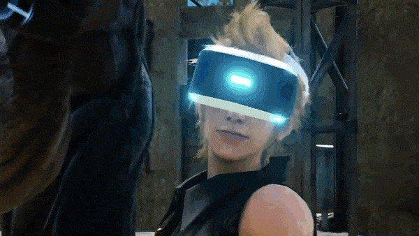 E3 2016 U-tad: Final Fantasy XV no convence con su demo en Playstation VR
