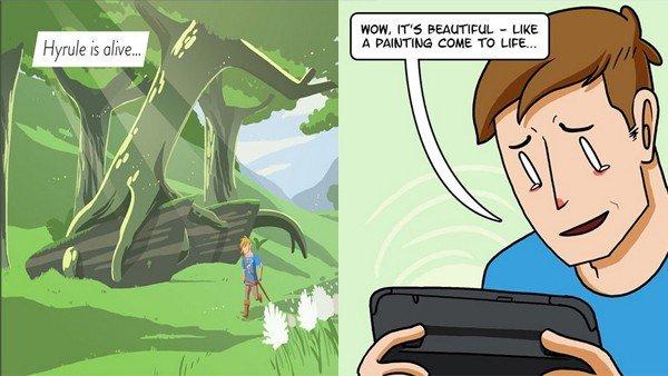E3 2016 U-tad: El conflicto de los jugadores con The Legend of Zelda: Breath of the Wild
