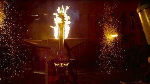 La espada de Voltron ya es real después de las peticiones de varios aficionados