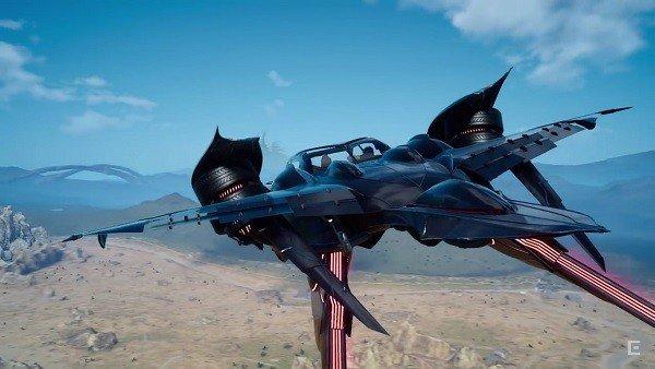 E3 2016 U-tad: Final Fantasy XV muestra al coche volador en acción
