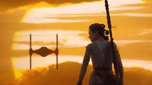 Star Wars Episodio VIII: Daisy Ridley comparte una imagen de los últimos días de rodaje