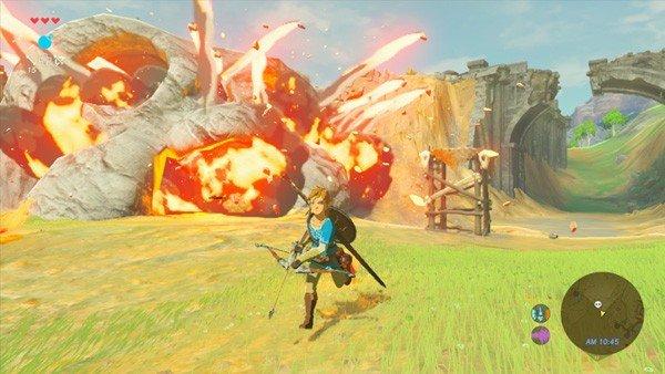 The Legend of Zelda: Breath of the Wild usará así la cocina