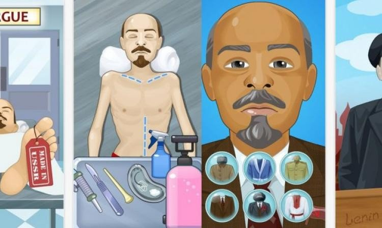 Un polémico videojuego ruso invita a manipular el cadáver de Lenin