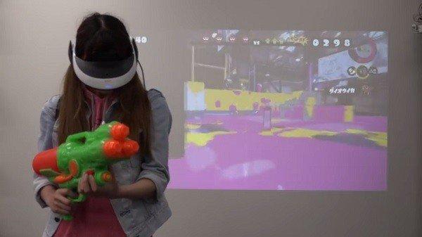 Así sería Splatoon en realidad virtual