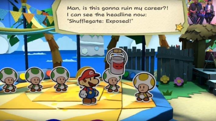 """Nintendo niega que Paper Mario: Color Splash haga referencia a una """"campaña de odio"""""""