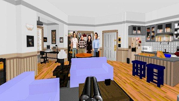 Doom 2: Recrean el apartamento de Seinfeld en el juego