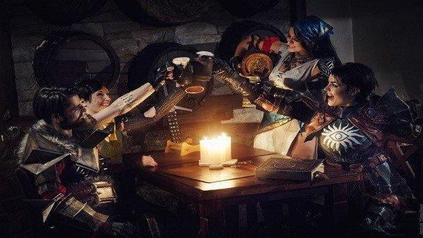 Dragon Age: Sus personajes se reencuentran en este cosplay